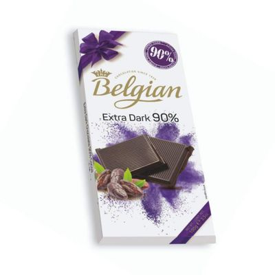 Chocolate-Belgian-90--Extra-Dark-100-Gr