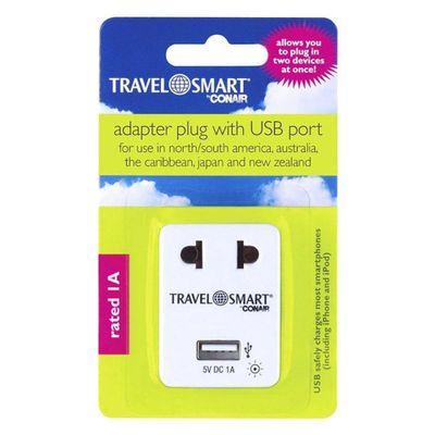 Adapatador-Con-Puerto-Usb---Travel-Smart
