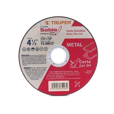 Disco-Para-Corte-De-Metal-4-1-2-Plg---Truper