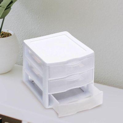 Organizador-Mini-De-Plastico-3-Gavetas---Sterlite