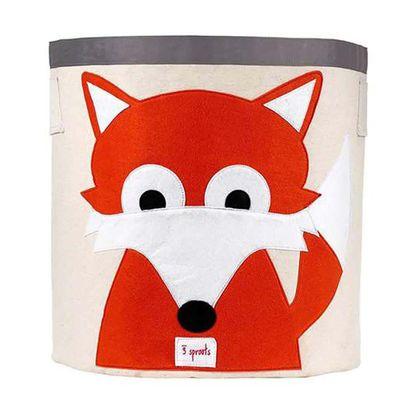Caja-Para-Juguetes-Zorro---Naranja