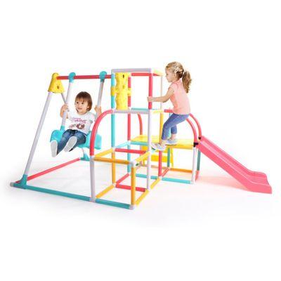 Climb---Slide-Swing-Set-4-En-1---Grow-n-Up