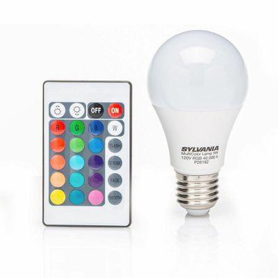 Bombillo-Led-Multicolor-Rgb-E27-120V---Sylvania