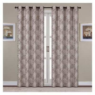 Cortina-Janny-Taupe-137X228-Cm---Home-Accents