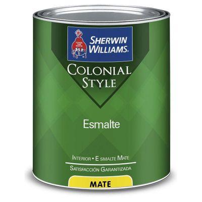 Esmalte-Colonial-Cafe-Terrenal-1-Gal---Sherwin-Williams