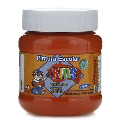 Pintura-Escolar-Naranja-250-Ml---Sayer