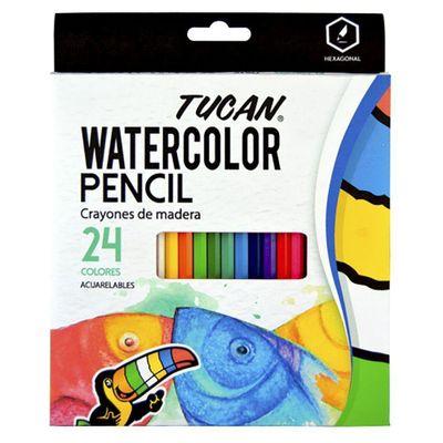 Crayon-De-Madera-Acuarelable-24-Colores---Tucan
