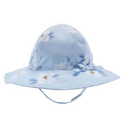 Sombrero-Floral-Celeste-0-a-3-M---Carters