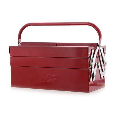 Caja-De-Herr.-16-De-Metal-Rojo-3Niv---Ace