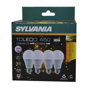Set-De-4-Bombillas-Led-A60-9W----Sylvania-Varios-Colores