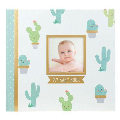 Libro-Recuerdos-Con-Stickers-Cactus