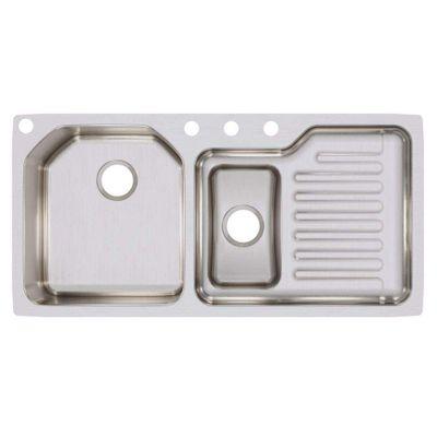 Lavatrastos-de-Submontar-1-fosa-Escurridor-derecho---ELKAY