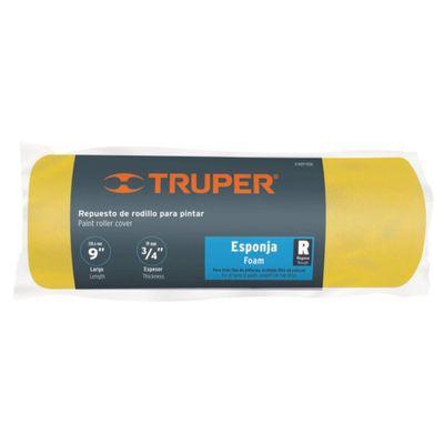 Repuesto-Rodillo-De-9-Plg-De-3-4-Plg-Truper-Esponja---Truper