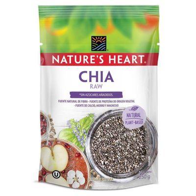 Chia-Raw-Bolsa-250G---Nature-s-Heart