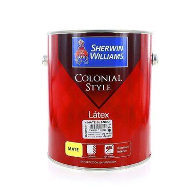 Colonial-Style-Latex-Mate-Blanco-1-Gal---Sherwin-Williams