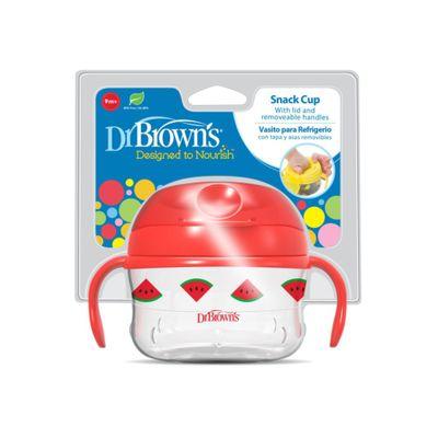 Vaso-Para-Snacks-Agarrador-Y-Tapa-Rojo---Dr.-Browns