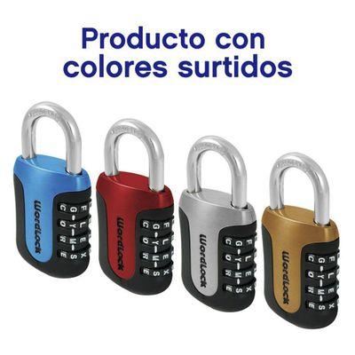 Candado-De-Combinacion-Sports-4-Digitos---Word-Lock