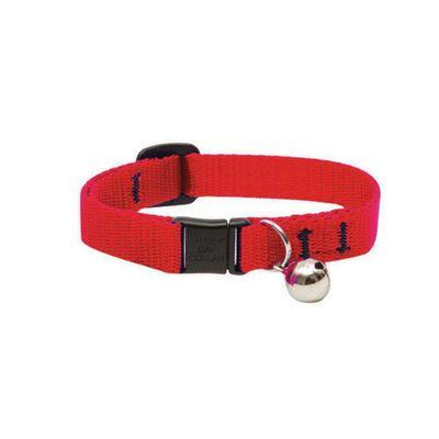 Collar-Rojo-Para-Gatos-Lupine-Tela