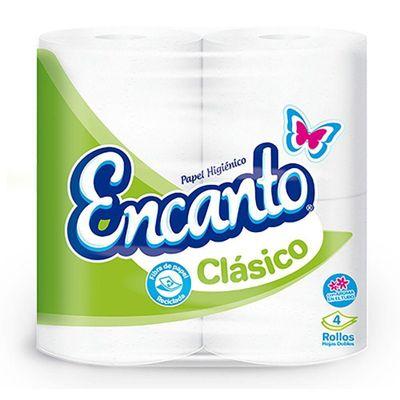 Papel-Higienico-4-Rollos-Clasico-230-Hojas---Encantos