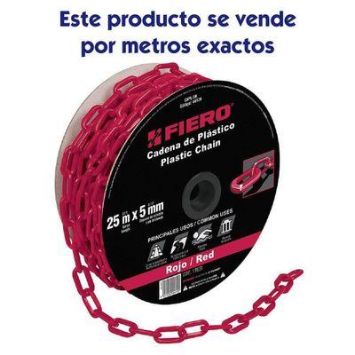 Cadena-De-Plastico-Rojo-De-30-Lb---Fiero