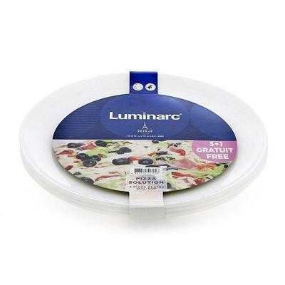 Set-De-Molde-Para-Pizza-4-Pcs---Luminarc