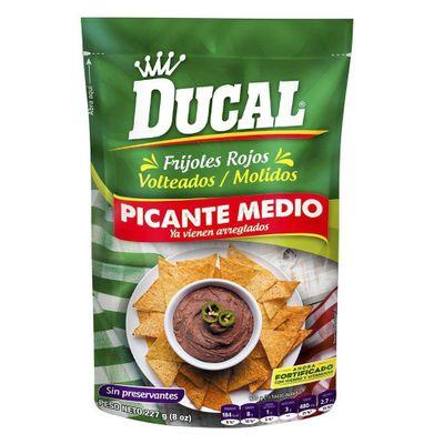 Frijol-Volteados-Rojo-Picante-8Oz---Ducal