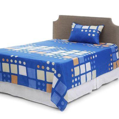 Set-Sabanas-Azul-Y-Blanco---Pleasant-Dreams-Varios-Tamaños