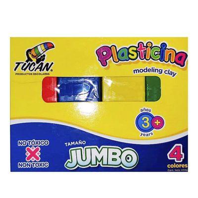 Plasticina-Jumbo-4-Colores---Tucan
