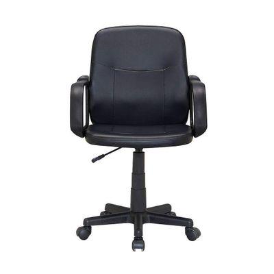 Silla-Oficina-Negra-Con-Altura-Ajustable