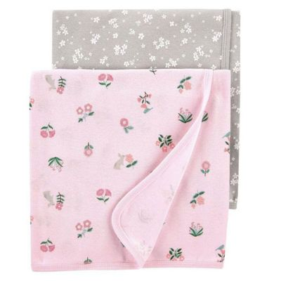Paquete-De-2-Mantas-Florales-Para-Bebe---Carters