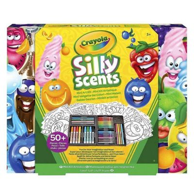 Crayola---Silly-Scents-Mini-Art-Case-50-Piezas.