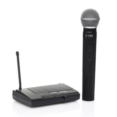 Microfono-Inalambrico-Color-Negro---E-Tek