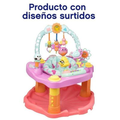 Exersaucer-Double-Fun-Pink-Bumbly---Evenflo
