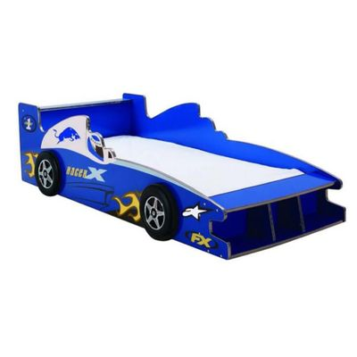 Cama-Carro-Azul