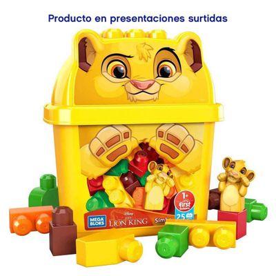 Disney-Cubetas-Surtido---Mega-Blocks