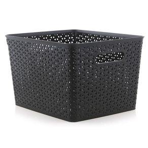 Caja-Tipo-Ratan-C-Tapa-35X29X22-Cm---Green-Tech-Varios-Colores