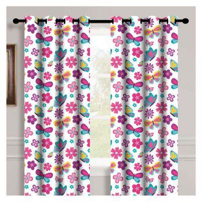 Cortina-140X213-Flores-Primavera---Home-Accents