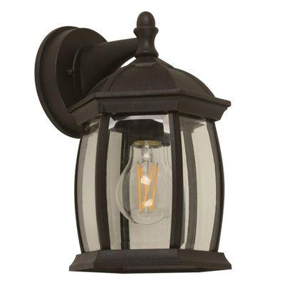 Lamp.-Pared-E27-1L-60W-Acab.-Negro