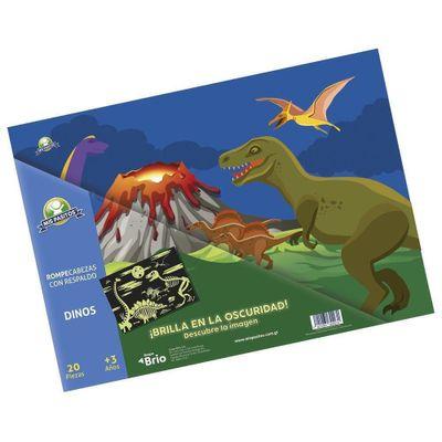 Rompecabezas-Dinosaurios-20-Piezas---Mis-Pasitos