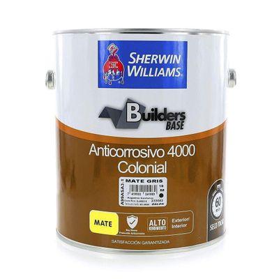 Builders-Base-Anticorrosivo-4000-Colonial-Mate-Gris-1-Gal---Sherwin-Williams