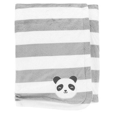 Frazada-B20-N-Panda-Stripe---Carters