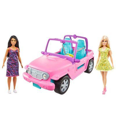 Barbie-Jeep-Con-Muneca-Amiga---Mattel