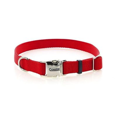 Collar-De-Nylon-45-Cm-X-1.5-Cm-Titan-Rojo