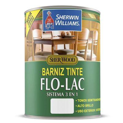 Barniz-Tinte-Flo-Lac-Brillante-Roble-Oscuro-1-4-Gal---Sherwin-Williams