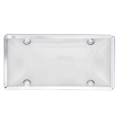 Porta-Placa-Con-Cobertor-Cromo-Humo---Hs
