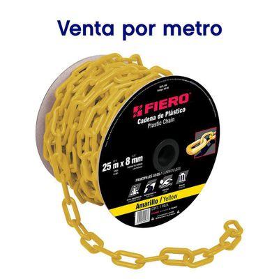 Cadena-Plastico-Amarillo-8-Mm---Fiero