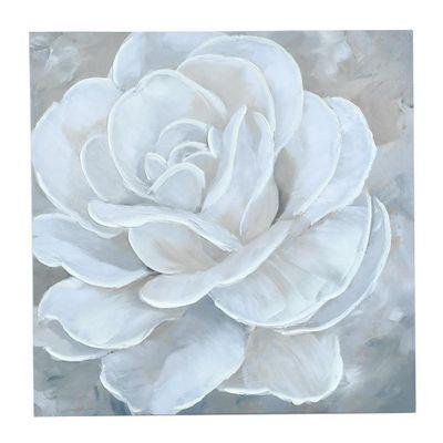Cuadro-Rosa-Blanca-60X60X2.5-Cm---Concepts