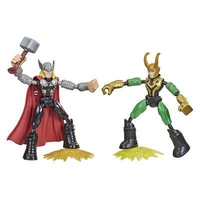 Figura-De-Accion-Bend-And-Flex-Thor-Vs-Loki--Hasbro