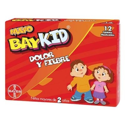 Baykid-Dolor-Y-Fiebre-12-Tab---Bayer