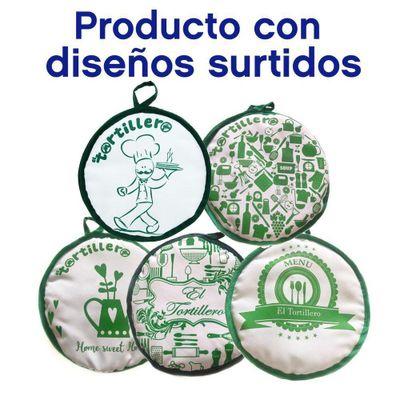 Tortillero-9-Plg-Letras-Verde